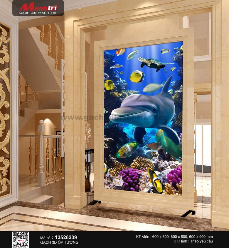 Cá heo lớn trong lòng biển