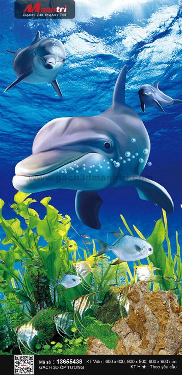 Đàn cá heo tinh nghịch