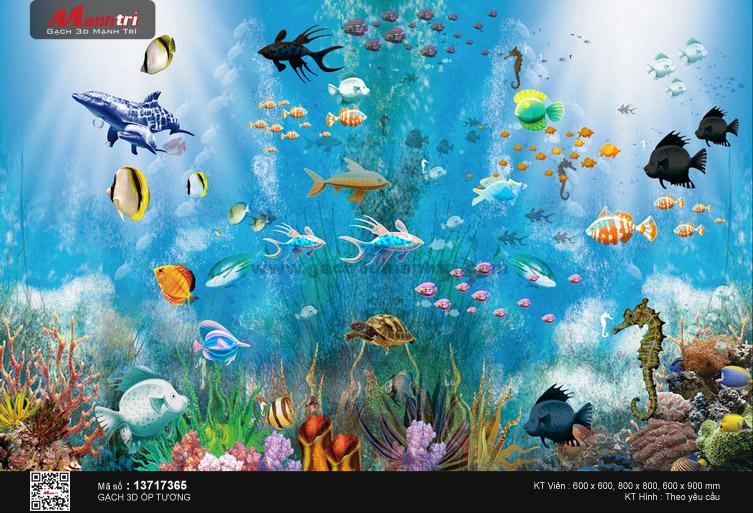 Thế giới biển sinh động