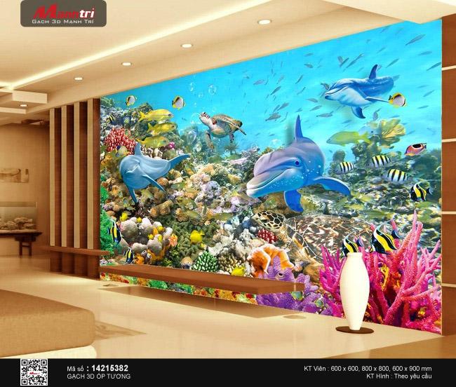 Sinh vật biển phong phú
