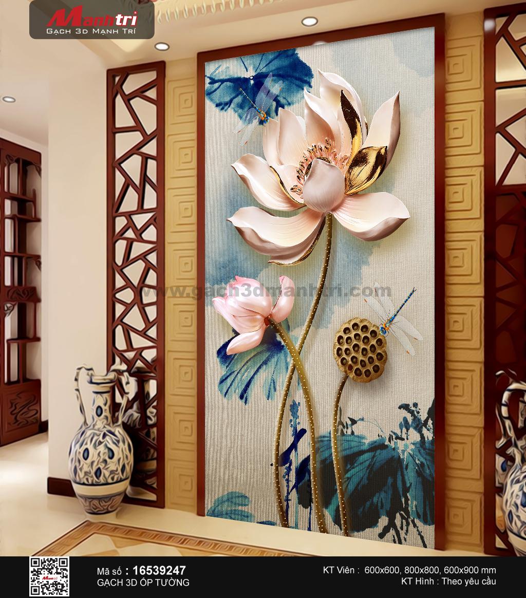 gach 3d hoa