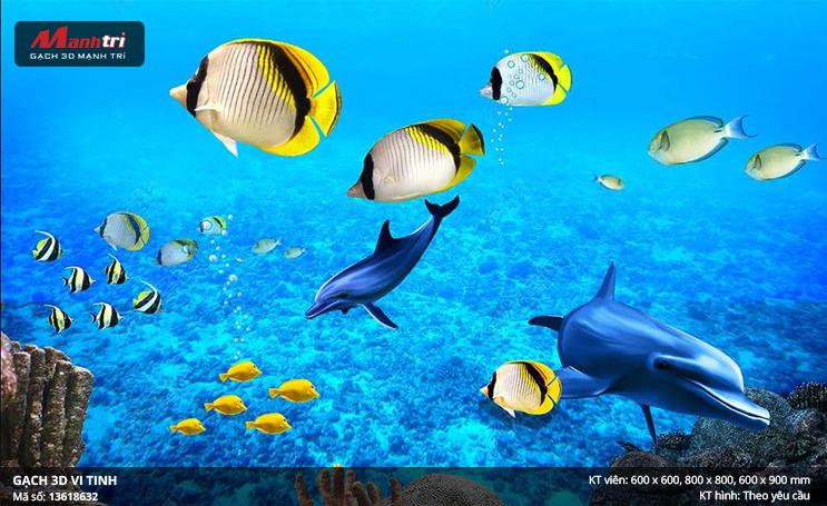 Đàn cá nhiều màu sắc