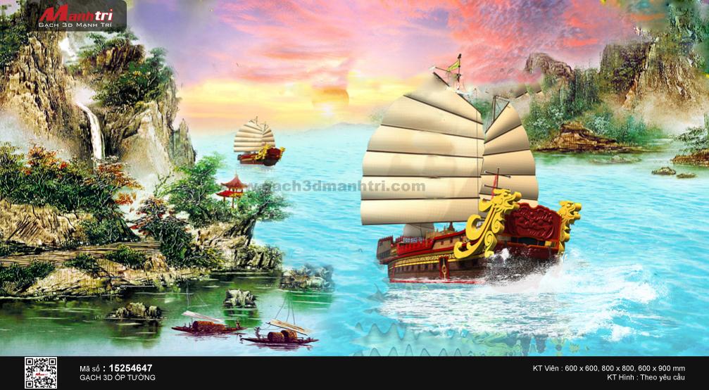 Đoàn thuyền giữa non nước hữu tình