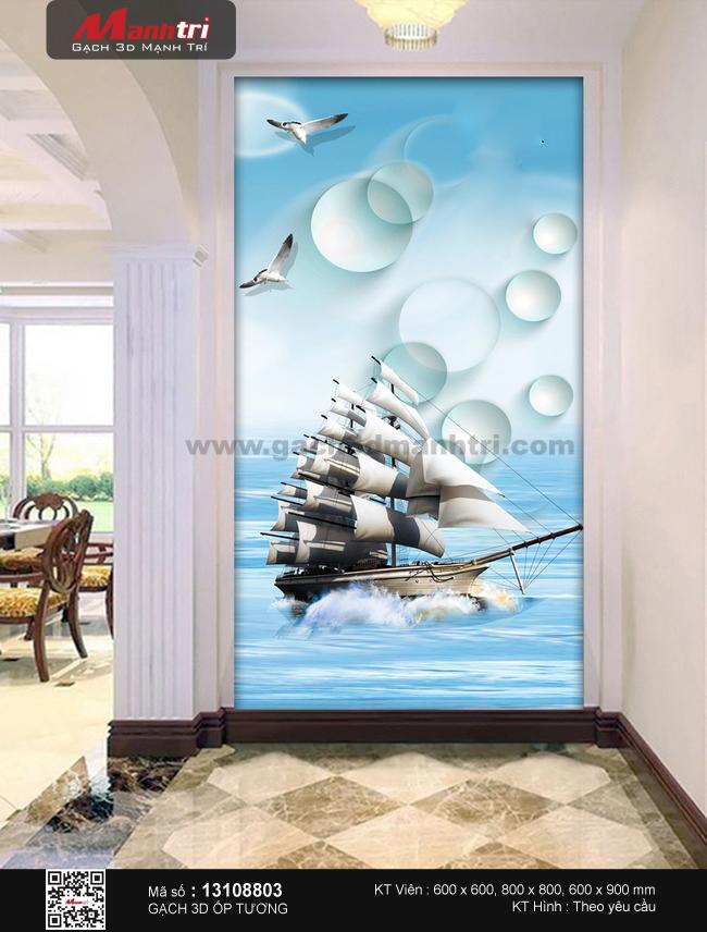 Thuyền lướt sóng bên hải âu