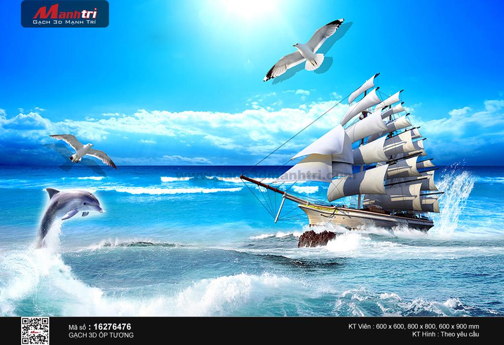 Con thuyền giữa khơi xanh
