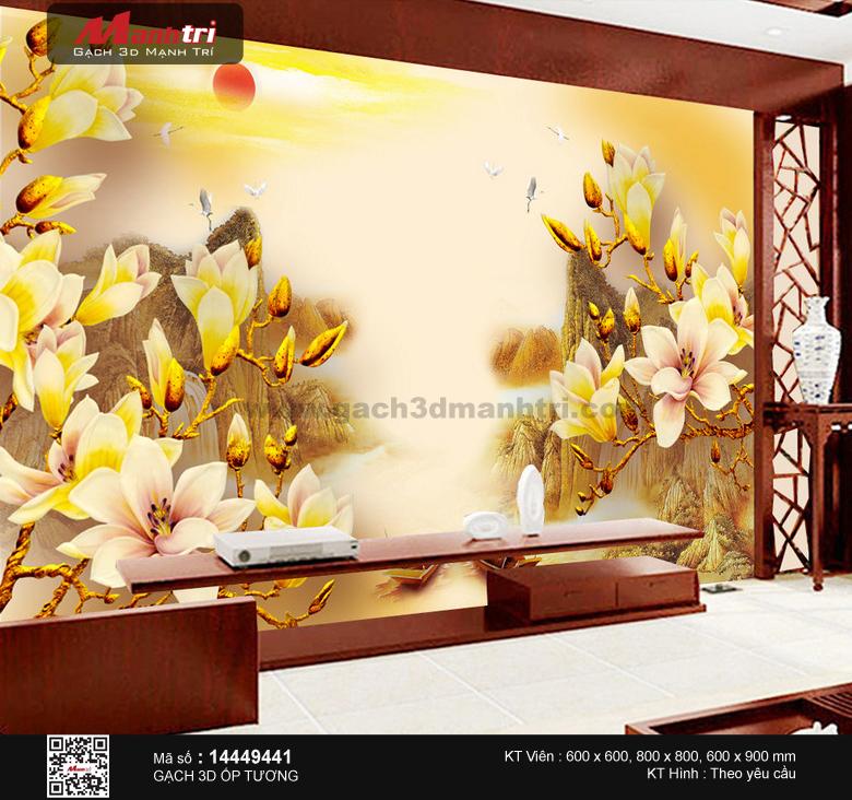 Hoa mộc lan ánh vàng