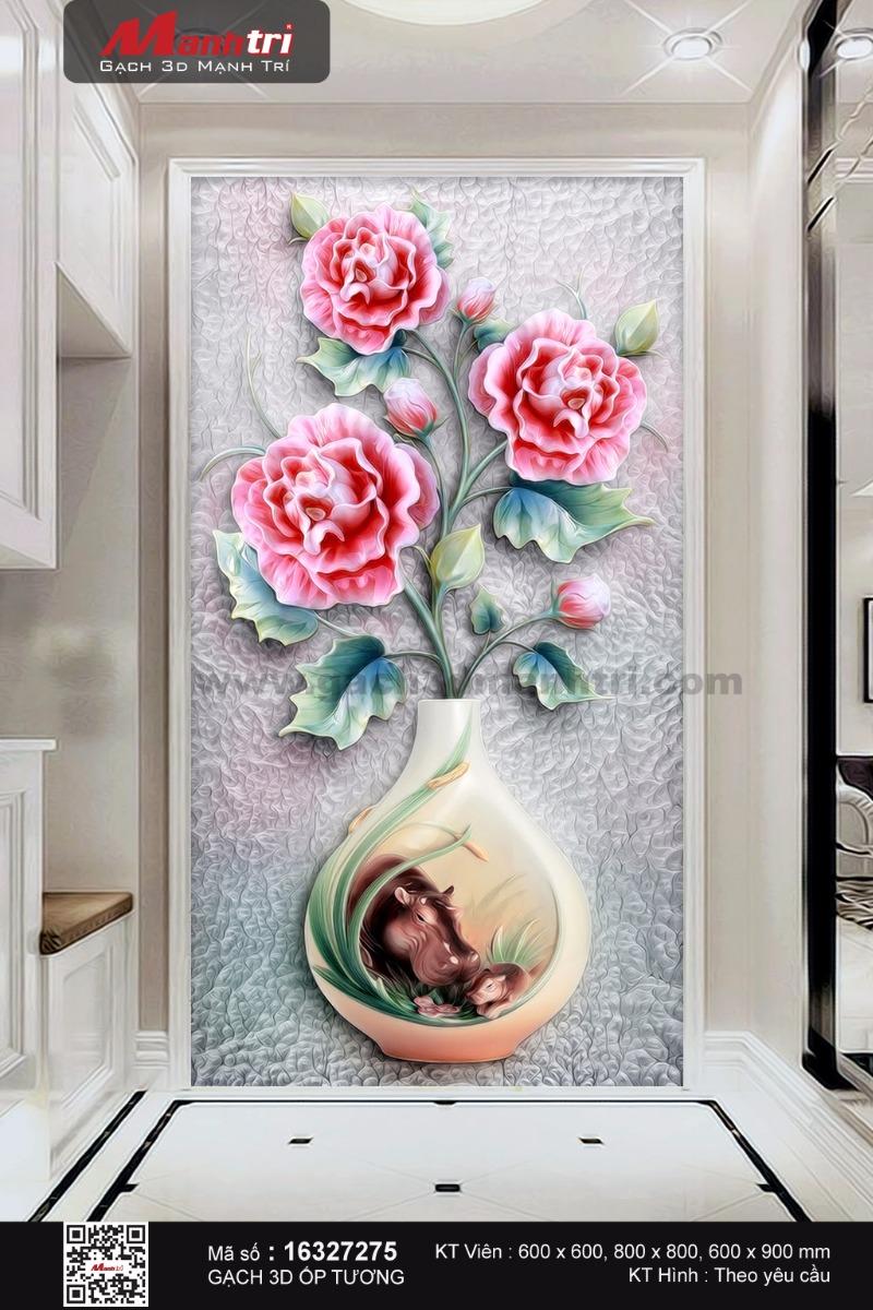 Bình hoa độc đáo