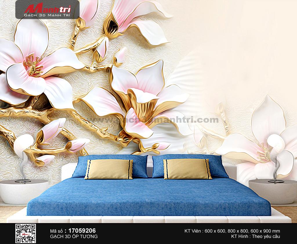 Hoa mộc lan mạ vàng