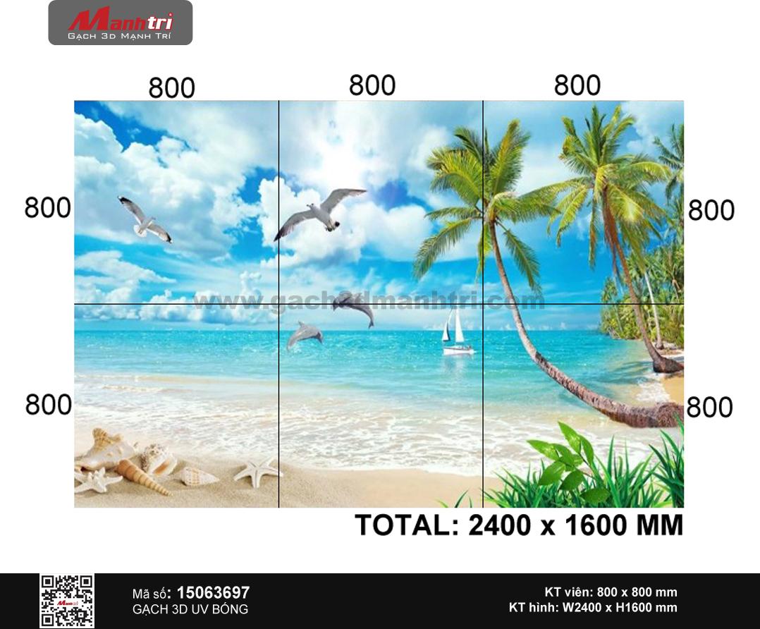 Gạch 3D Cảnh biển